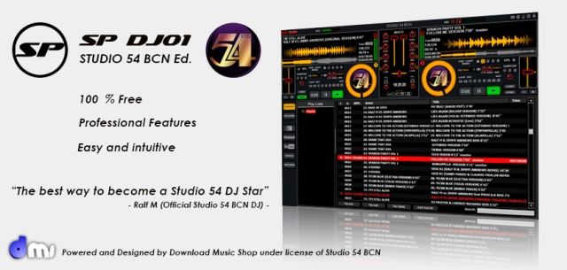 DJ Software Studio 54 BCN