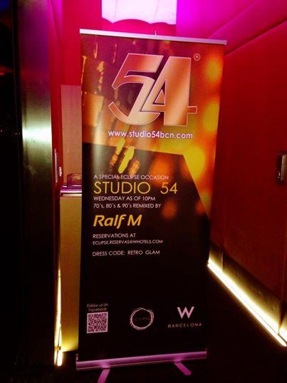 Studio 54 Roll Up